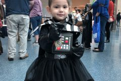 Blogging with Babies Princess Darth Vader with her Medal