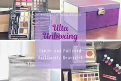 Blogging with Babies Ulta Unboxing: Pretty and Polished and Brilliantly Beautiful