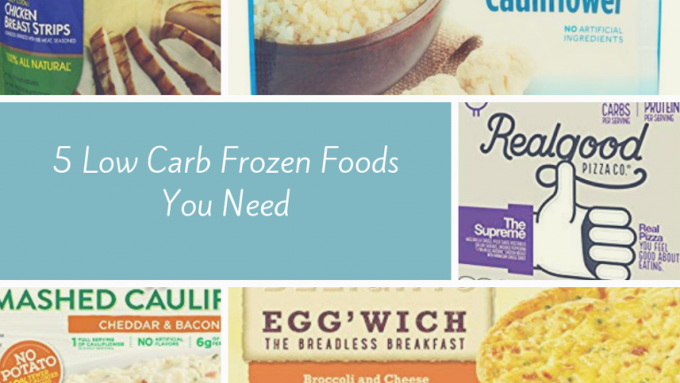 5 Low Carb Frozen Foods You Need