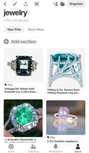 My Jewelry Pinterest Board