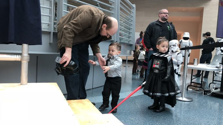 NMMC Kids and Semper Force a Star Wars Family Day