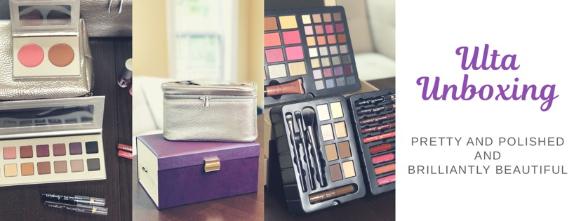 Blogging with Babies Ulta Makeup Set Unboxing: Pretty and Polished and Brilliantly Beautiful
