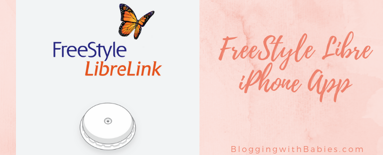 Blogging with Babies FreeStyle Libre iPhone App now available in the US.