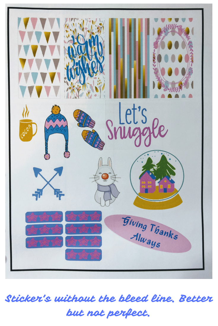 Make Stickers Using Cricut - Blogging with Babies